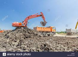 Big Excavator Is Filling A Dump Truck With Soil At Construction Site ... Cat 9 Inch Big Builder Ls Shaking Machine Vehicle Dump Truck Terex 3319 Titan Biggest In The World In 1080p Hd Youtube Or Ming Is Machinery Boy Remote Control Rc Cstruction Bigdaddy Lorry With Tipper Work Car Black Dump Truck Bigblackdumptrk Twitter Vector Download Free Art Stock Graphics Mercedesbenz Actros 3243 Full Steel Manual Axle Beauty Tags Big Trucks Equipment To Trans Vehicles A Ride Through Time Technology Cat Also Parts Price Of Brand New Super