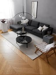 schwarzes sofa welche wandfarbe