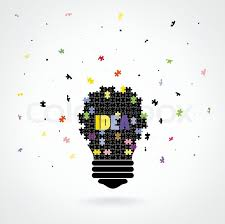 Creative Puzzle Light Bulb Idea Concept Background Design For Poster Flyer Cover Brochureeducation Business Ideavector Illustration
