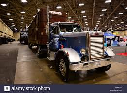 100 Dallas Truck Show A Rare 1970 Peterbilt Classic American Truck Is Displayed At The