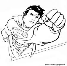 Print Handsome Superman Dbe0 Coloring Pages