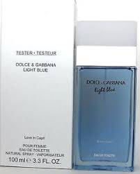Dolce & Gabbana Light Blue Love In Capri 3 3 oz EDT Spray Tester