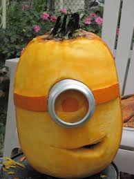 Best Pumpkin Carving Ideas 2014 by Put In A Candle And It Will Glow Just Like A Minion Kim