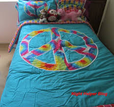Blue Tie Dye Bedding by One Grace Place Has Just What Your Rooms Need Giveaway Night