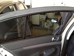 Junction Produce Car Curtains by My G Sedan Progress Myg37