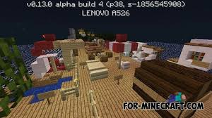 Ideas map for Minecraft PE 0 13 0