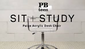 Acrylic Swivel Desk Chair by Paige Acrylic Desk Chair Sit Study Pbteen Youtube