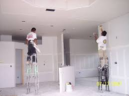 Hanging Drywall On Ceiling Or Walls First by Is It Time To Hang Up On Hanging Drywall Treehugger