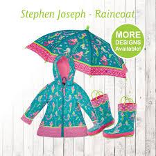 mermaid raincoat personalized kids mermaid rain gear
