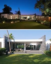 100 Single Storey Contemporary House Designs 1 Story Plans Fresh One Story Modern