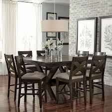 Bayside Furnishings 9 Piece Dining Set New Costco Counter Height Table Room