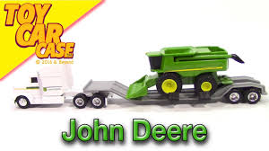 100 John Deere Toy Trucks ERTL Semi Tractor Trailer Combine Harvester Car Case