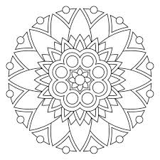 Full Image For Coloring Pages Of Flowers And Butterflies Mandala Free Printable