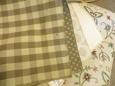 Tan Cream Upholstered Furniture Fabric Theredbrickcottage