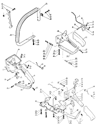 Echo Bed Redefiner by Echo Cs 301 Chain Saw Handle Parts Diagram Lawnmower Pros