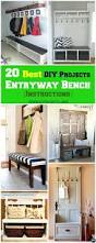 Wood Bench Plans With Storage by Bench For Entry Way Benches Entryway Storage Bench Plans Wooden