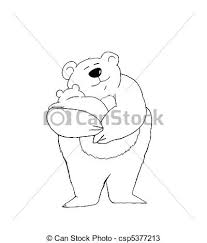 Mama Bear With Baby