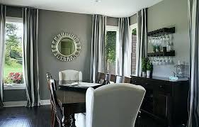 Bay Window Ideas For Dining Room Curtains Curtain