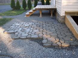 DIY Massive Concrete Cobblestone Patio | DIY Barrel Stove Outdoor ... Interesting Ideas Cement Patio Astonishing How To Install A Diy Spice Up Your Worn Concrete With Flo Coat Resurface By Sakrete Build In 8 Easy Steps Amazoncom Wovte Walk Maker Stepping Stone Mold Removing Stain In Stained All Home Design Simple Diy Backyard Waterfall Decor With Grave And Midcentury Epansive Amys Office Step Guide For Building A Property Is No Longer On Pouring Interior