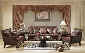 Best Elegant Traditional Living Room Furniture With Brown Sofa Ideas