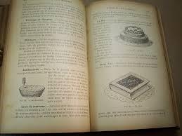 vieux livre de cuisine librairie ancienne et autres trésors traité de pâtisserie