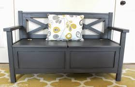 Ginger Snap Crafts Chalky Finish Bench Makeover chalkyfinish