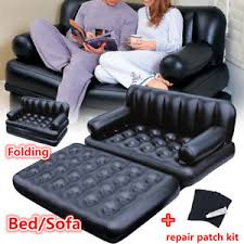 canapé lit gonflable pliant canapé lit gonflable matelas pneumatique sofa fauteuil 2