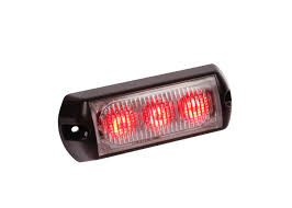 LED High Power Red Strobe Light | Custer Products