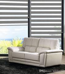 2017 roller zebra blinds light filtering sheer shade in grey