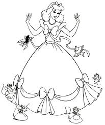 Princess Gown Coloring