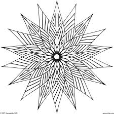 These Geometric Coloring Pages Pictures Are Online That Can Be Colored With Color Gradients