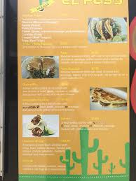 El Patio Bluefield Va Menu by Taqueria El Paso 31 Reviews Christiansburg Va Mexican Yelp