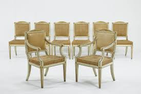 Set Of Eight Painted 18th Century Italian Dining Chairs How To Transform A Vintage Ding Table With Paint Bluesky Pating My Antique Six Edwardian French Painted Chairs 364060 19th Century Country Set Of 6 Balloon Back Good 1940s Faux Bamboo Eight 1920s Pair Regency 2 Side White Chippy Chair Early 20th Louis Xvi Chairsset 8 Abc Carpet Home Style Fniture And European Buy Cheap Punched Wood Handpainted