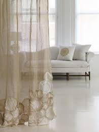 Smocked Burlap Curtain Panels by Smocked Burlap Curtains Maybe Try Hankerchief Linen Instead Of