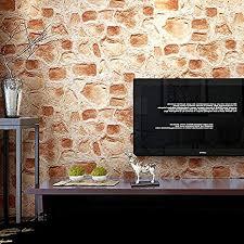 bbslt roche wasserdicht vintage wohnzimmer mauer klinker
