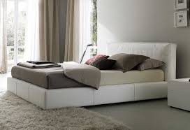 King Platform Bed With Leather Headboard by Bedroom Charming Modern Bedroom Decoration Using Black Leather