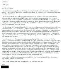 Morgan Stanley Cover Letter Spring Week Secretary