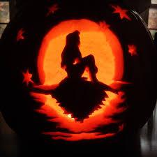 Mermaid Pumpkin Pattern by Kiss The Disney Ariel Prince Eric The Little Mermaid Pumpkin