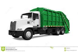 Garbage Truck Stock Photo. Image Of Rubbish, Recycle - 63908924