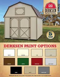 Derksen Best Value Sheds by Derksen Pricing U0026 Options I 30 Portable Buildings Arkansas