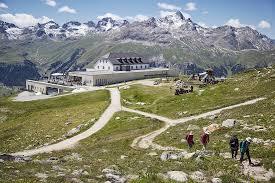 100 Muottas Muragl BERGFEX Panoramic Map Map Alp