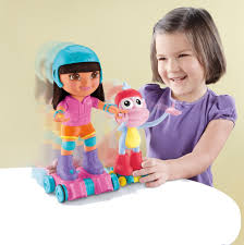 Dora The Explorer Kitchen Set Target by Amazon Com Fisher Price Nickelodeon Dora The Explorer Skate And