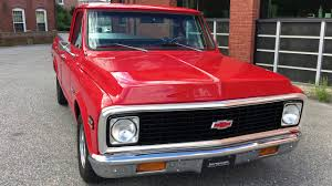 100 72 Chevy Trucks 19 C10 Short Bed W 454 Big Block And 4 Speed YouTube