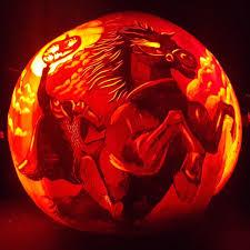Headless Horseman Pumpkin Carving Stencil by Pumpkins 2015 U2014 Edward Cabral