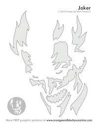 Clown Pumpkin Template by The 25 Best Joker Pumpkin Ideas On Pinterest Pumpkin Carving