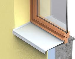 appui de fenêtre en aluminium d extérieur protegenet alu