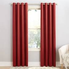 Eclipse Thermapanel Room Darkening Curtain by Red Curtains U0026 Drapes Window Treatments Home Decor Kohl U0027s