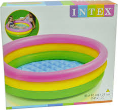 Inflatable Bathtub For Adults Online India by Intex Water Tub Inflatable Pool 5ft Diameter Baby Bath Seat Price
