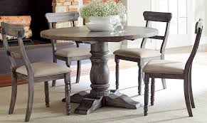 Modern-Rustic Brushed Gray Finish Dining Table Sales | Furniture ... How To Create A Transitional Ding Room Fratantoni Liftyles Transitional Ding Room Set Inc Table With Leaf 4 Side Chairs 2 Intrigue Round Glass Top Table Chairs White 50 Awesome Vintage Living Fniture In Of America Giselle Rooms For 45 Ideas Photos Solid Wood And Set Intercon Balboa Park With Bench Sadlers Steve Silver Lawton Nine Piece Wayside