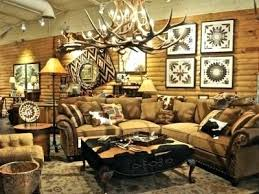 Western Style Living Room Furniture Rustic Showroom Chairs